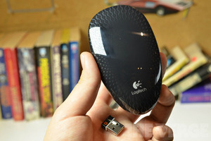 Gallery Photo: Logitech Touch Mouse M600 hands-on photos