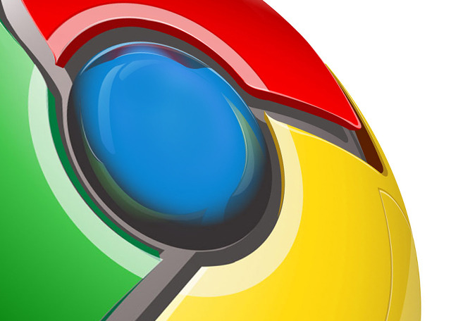 Google Chrome Logo CloseUp