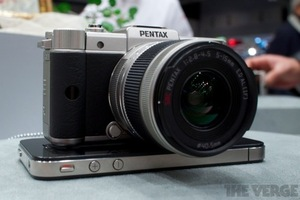 silver pentax q