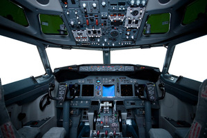 Aircraft cockpit (Shutter Stock)