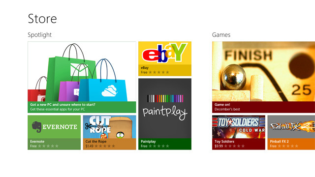 Windows Store Windows 8