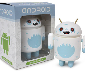 Yeti Android figure