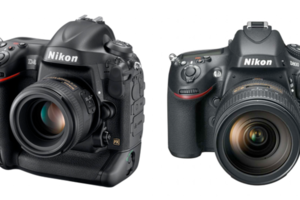 Nikon D800 and D4