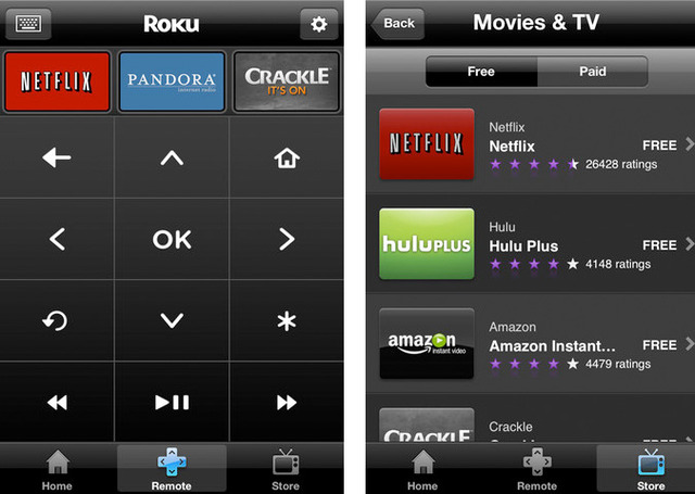 roku remote