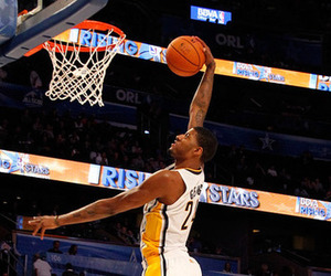NBA Slam Dunk Contest 2012: Paul George Ready To Take Flight