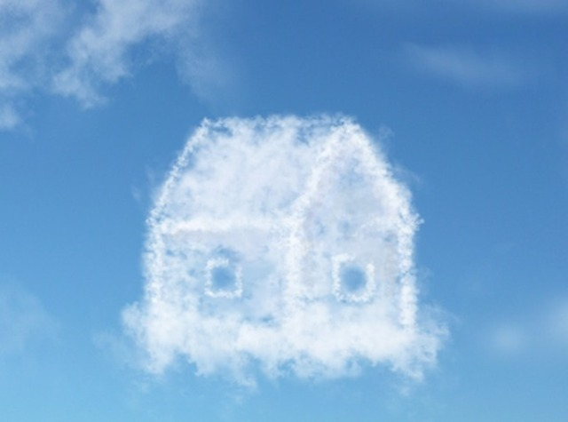 shutterstock cloud house