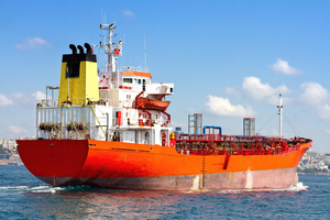 Cargo ship SHUTTERSTOCK