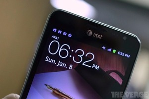 Gallery Photo: Samsung Galaxy Note for AT&amp;T hands-on photos