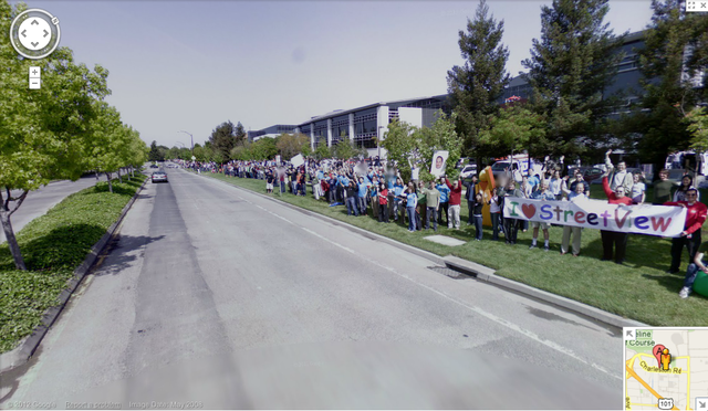 Google HQ street view