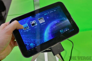 Gallery Photo: Toshiba 7.7-inch tablet hands on photos