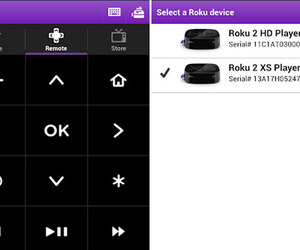Roku app for Android screenshots