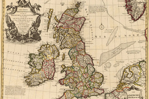 Old Map England 1024