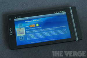 Sony Xperia S PlayStation Store