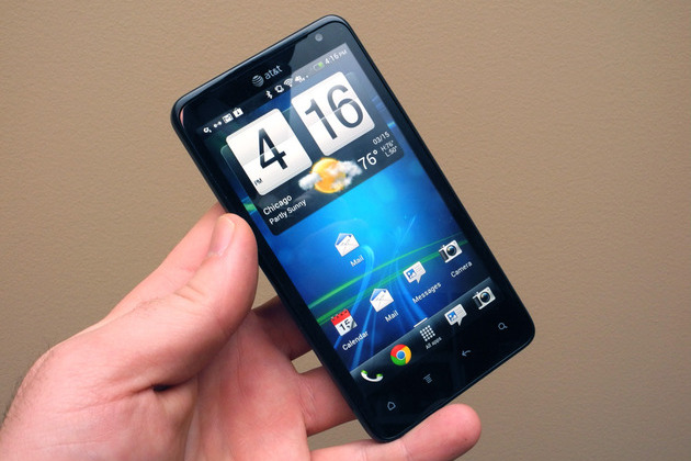 HTC Vivid Android 4.0 update hands-on