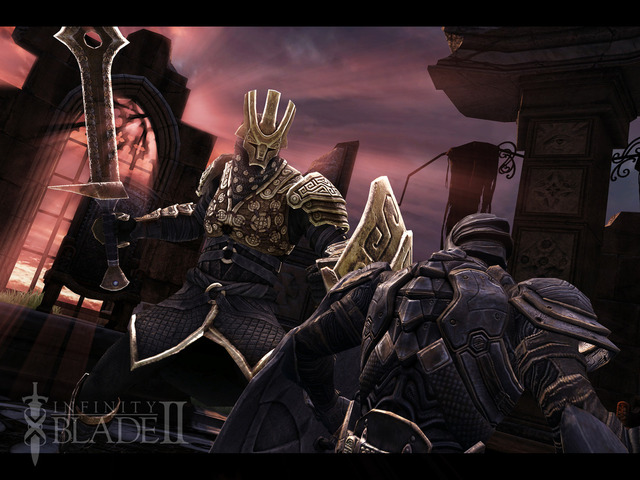 Infinity Blade 2 iPad Retina Display screenshot