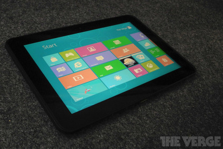 Windows 8 Consumer Preview on ViewSonic tablet