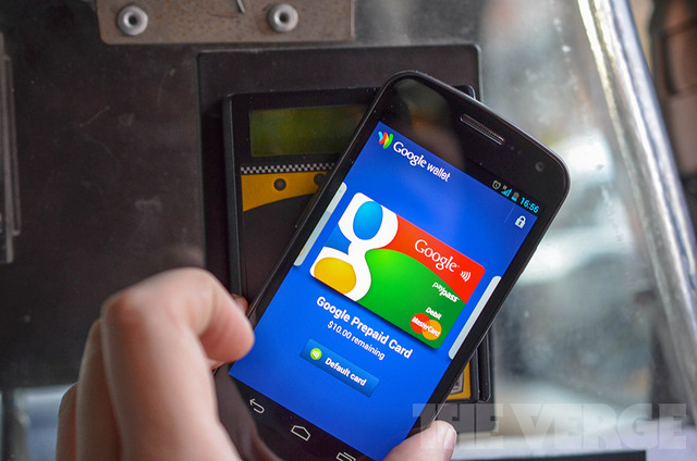 Google Wallet NFC taxi contactless payment (1020