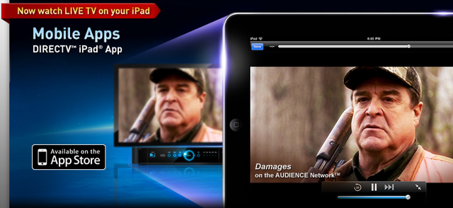 DirecTV iPad