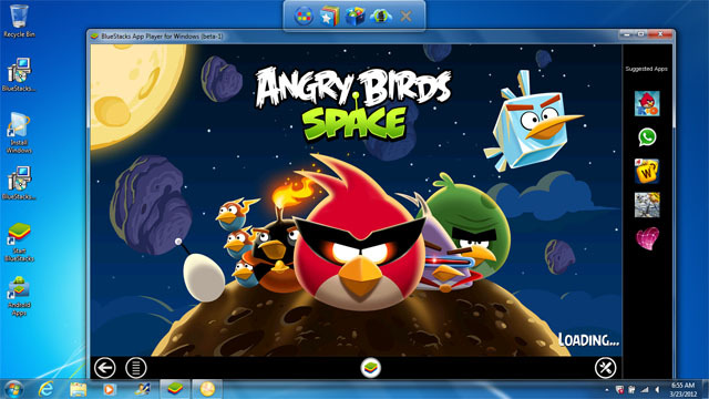 BlueStacks App Player Android beta