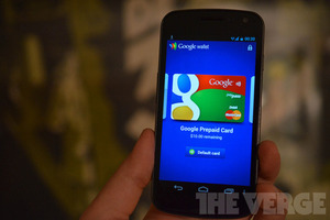 Google Wallet galaxy nexus