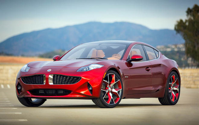 Fisker Atlantic side