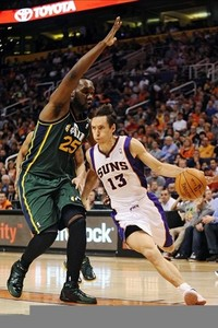 Can Nash carry the Suns to victory on a B2B? Mandatory Credit: Jennifer Stewart-US PRESSWIRE.