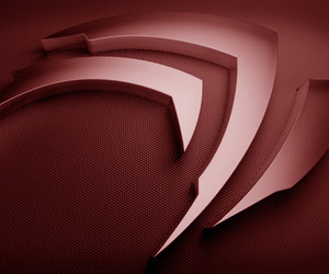 Nvidia logo red