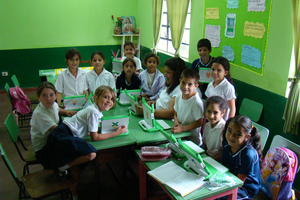FLICKR OLPC classroom students