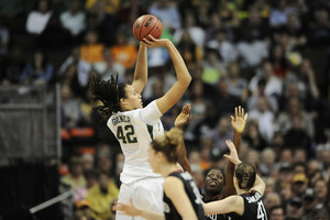 Was Brittney Griner's recruitment to Baylor on the up and up? Looks like maybe not. (Credit: Ron Chenoy-US PRESSWIRE)