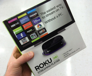 Roku HD seen in stores