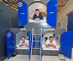 Interxion sleeping pods