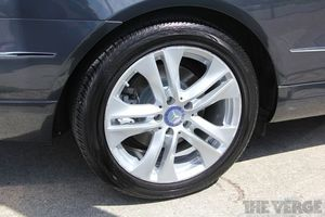 mercedes benz car wheel stock 1024