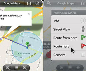 Google Maps for webOS homebrew screenshots 640