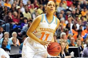 Mar 2, 2012, Nashville, TN, USA; Tennessee Lady Vols forward Cierra Burdick (11) drives to the basket against the Vanderbilt Commodores during the second round of the SEC tournament at Bridgestone Arena. The Lady Vols beat the Commodores 68-57. Don McPeak-US Presswire.