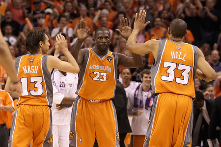 Los Suns! (Photo by Christian Petersen/Getty Images)