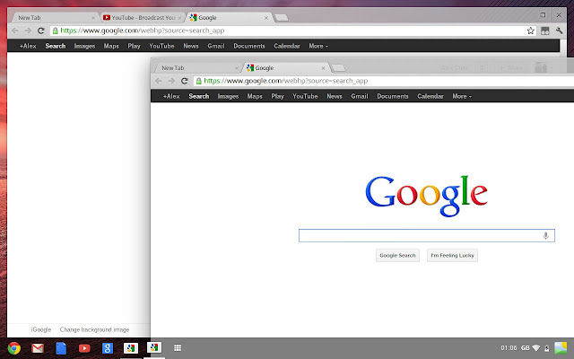 google chrome os aura
