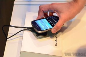 Gallery Photo: BlackBerry Music Gateway hands-on pictures