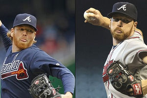 Doc Hanson on the left, Tommy Hanson on the right.