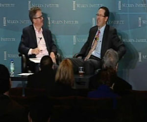 Randall Stephenson at Milken Institute