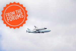 Space Shuttle From The Forums