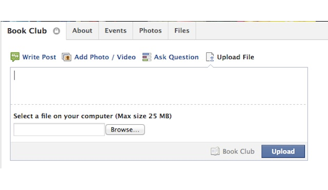 Mashable FB Group file sharing