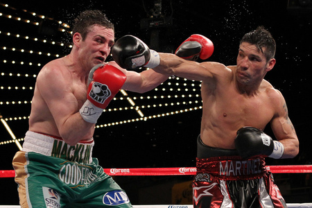 Sergio Martinez taking out Mathew Macklin