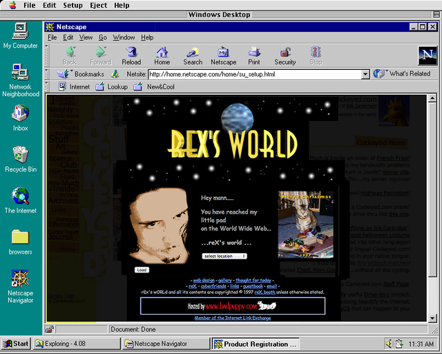 Rex's World The Awl