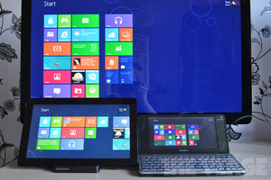 Windows 8 displays stock