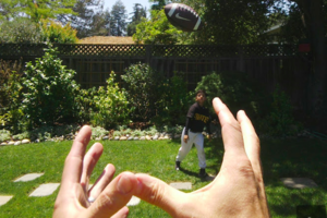 Project Glass Sample photo football