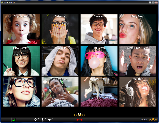 oovoo 12-way video chat 640x495