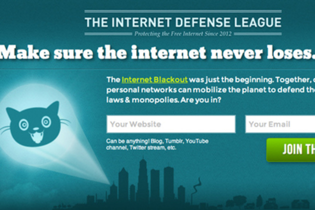 Internet Defense League banner