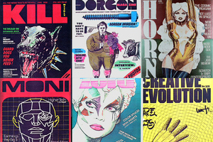 Blade Runner magazine covers
