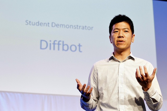 Michael Tung Diffbot - photo by The Demo Conference