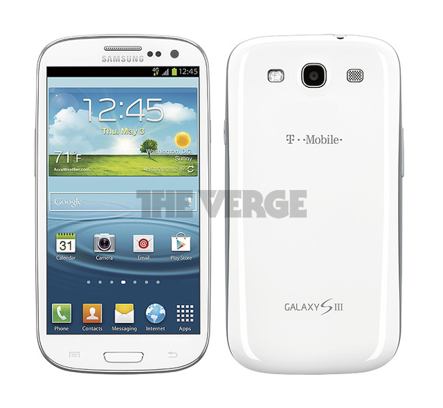 Galaxy S III (T-Mobile USA white)